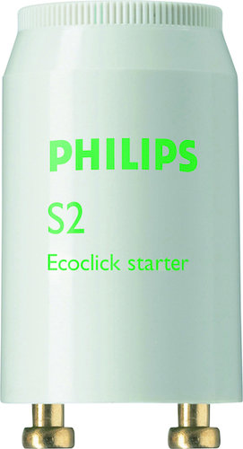 Philips  S2 4-22W SER 220-240V WH Eur/20X25CT