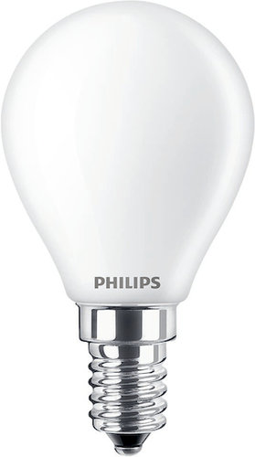Philips LED-Lampe CLA LEDCandle ND 2.2-25W P45 E14 FR / EEK: A++