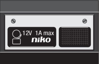 Niko  NIKO Türkommunikation - BELL PUSH-BUTTON 12V