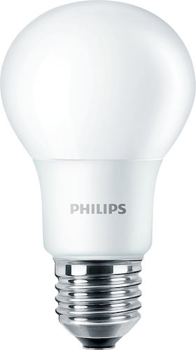 Philips LED-Lampe CorePro LEDbulb ND 8-60W A60 E27 827 / EEK: A+