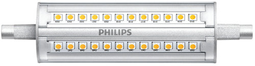 Philips LED-Lampe CorePro R7S 118mm 14-100W 830 D / EEK: A+