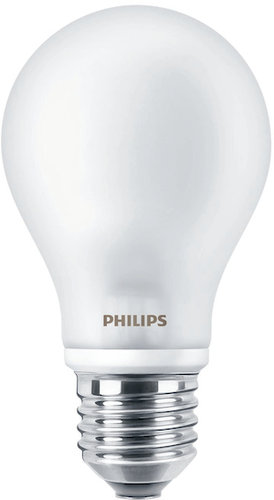 Philips LED-Lampe LED classic 60W A60 E27 WW FR ND 1CT/10 / EEK: A++